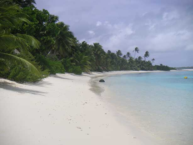 Parelwit strand, Cocos Keeling